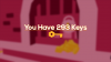 You Have 293 Keys para Mac download - Baixe Fácil