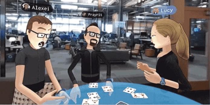 Realidade virtual no Facebook!