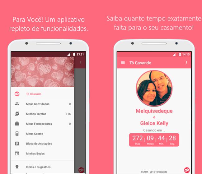 Baixar APK de Tô Casando: Organize seu Casamento para Android de graça!