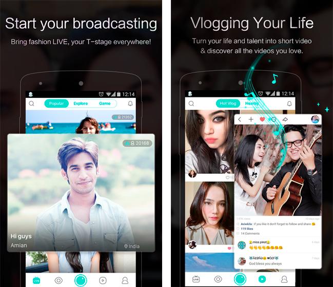 Baixar APK de BIGO LIVE de graça para Android