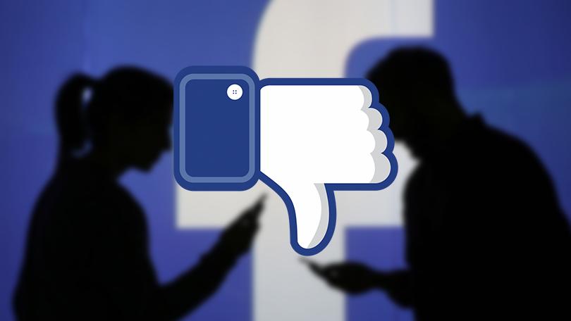 Facebook começa a testar botão de 'não curti'