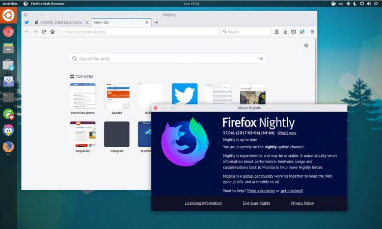 Donwload do Firefox Nightly grátis
