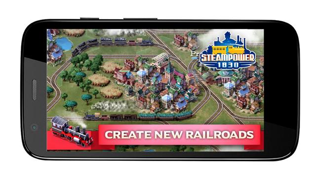 Baixar APK de SteamPower1830 Railroad Tycoon de graça para Android