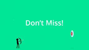 Baixar Don't Miss! (Stickman Archery) para iOS