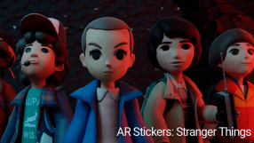 Baixar AR Stickers: Stranger Things para Android