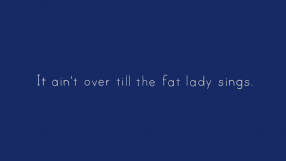 Baixar It ain't over till the fat lady sings