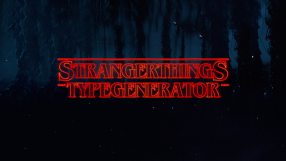 Baixar Stranger Things Type Generator