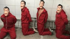 YouTuber tenta fazer pegadinha de La Casa de Papel e é detido pela polícia