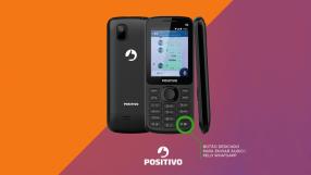 Chega celular com botão para mandar áudio no WhatsApp