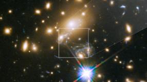 Hubble fotografa estrela mais distante da Terra