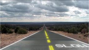 EUA inicia o primeiro teste de uso de estradas solares