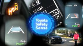 Carros da Toyota freiam sozinhos