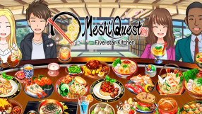 Baixar Meshi Quest: Five-star Kitchen