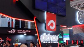 O stand da Pichau na BGS, e as novidades da AMD