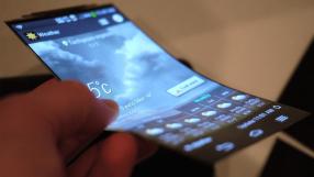 Samsung cria tela flexível inquebrável
