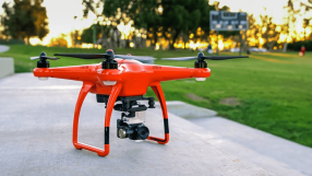 Drone ajuda a salvar alpinista desaparecido