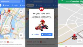 Explore o mundo com Mario Kart