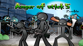 Baixar Anger of stick 5 : zombie para Android