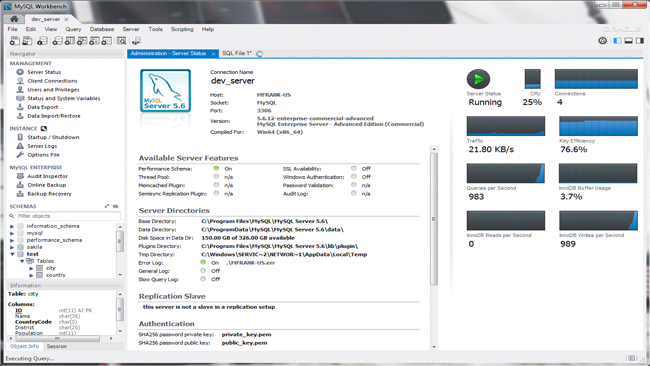 Baixar MySQL Workbench de graça para Windows