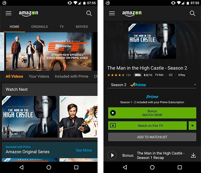 Donwload do aplicativo Amazon Prime Video grátis