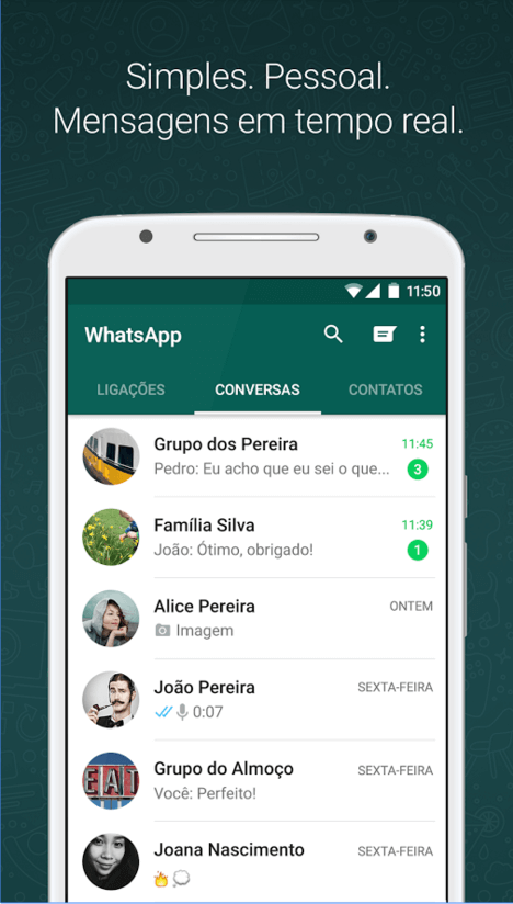 WhatsApp Interface
