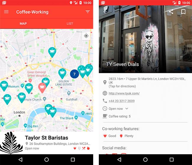 Donwload do aplicativo Coffee Working grátis
