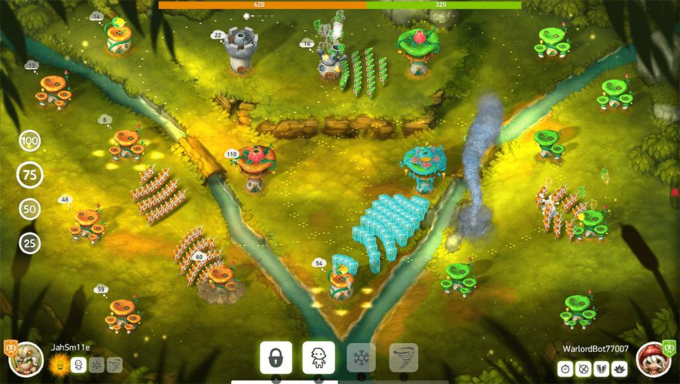 Donwload do jogo Mushroom Wars 2 grátis