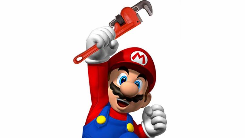Super Mario deixa de ser um encanador!