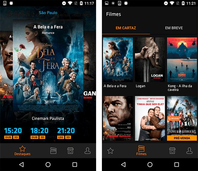 Donwload do aplicativo Ingresso.com - Filmes + Cinema grátis + Trailers