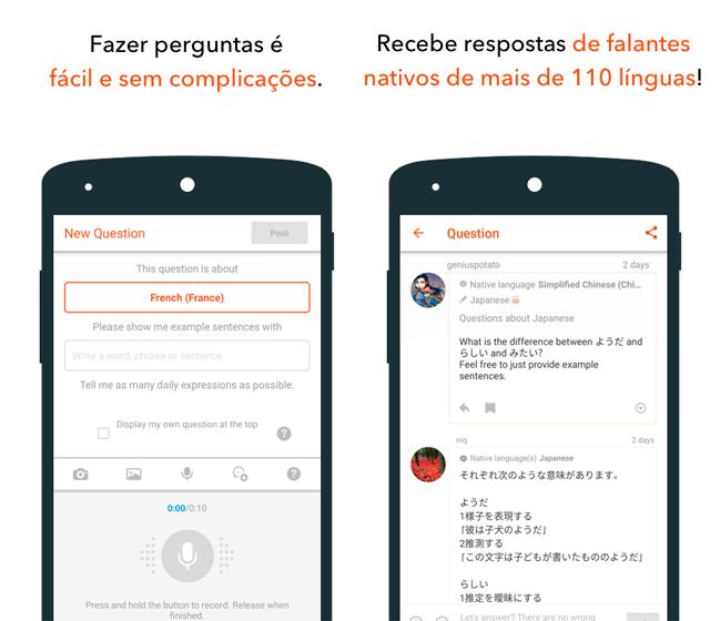 Baixar APK de HiNative de graça para Android