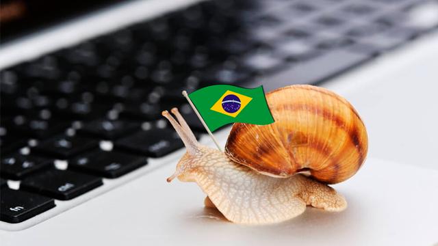 Internet brasileira está entre as 10 mais lentas do mundo