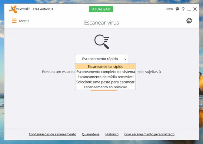 Antivirus Avast download grátis