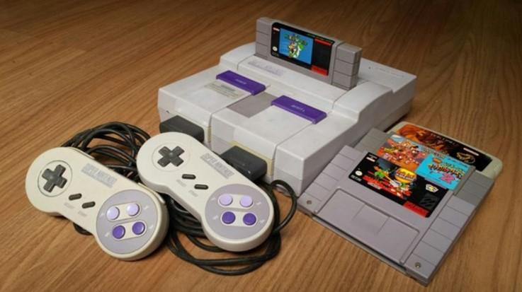 Nintendo quer lançar versão clássica do Super Nintendo