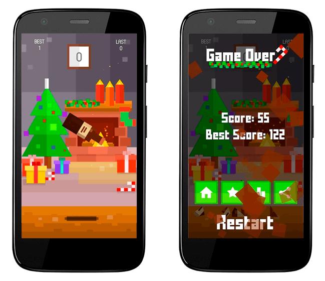 Baixar APK de Bottle Flip Christmas para Android de graça