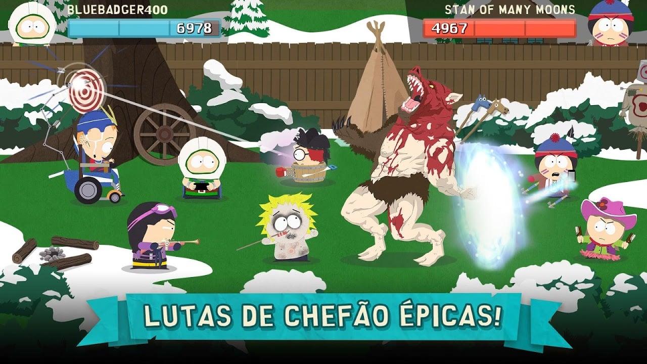 Donwload do jogo South Park: Phone Destroyer grátis iOS
