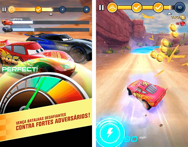 Donwload do jogo Cars: Lightning League grátis