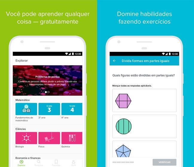 Baixar APK de Khan Academy para Android de graça