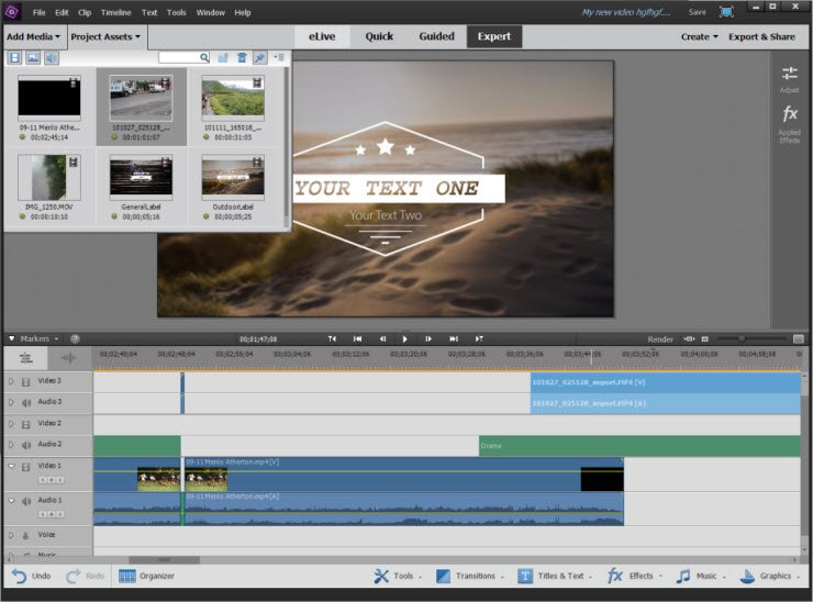 Adobe premiere elements 12 download baixe fcil interface mais organizada ccuart Image collections