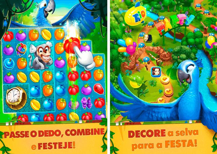 Donwload do jogo Rio: Match 3 Party para iOS grátis