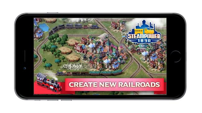 Baixar SteamPower1830 Railroad Tycoon de graça para iOS