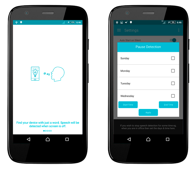 Baixar APK de Speak to Light de graça para Android