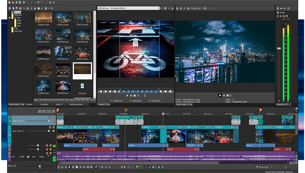 Donwload do VEGAS Pro