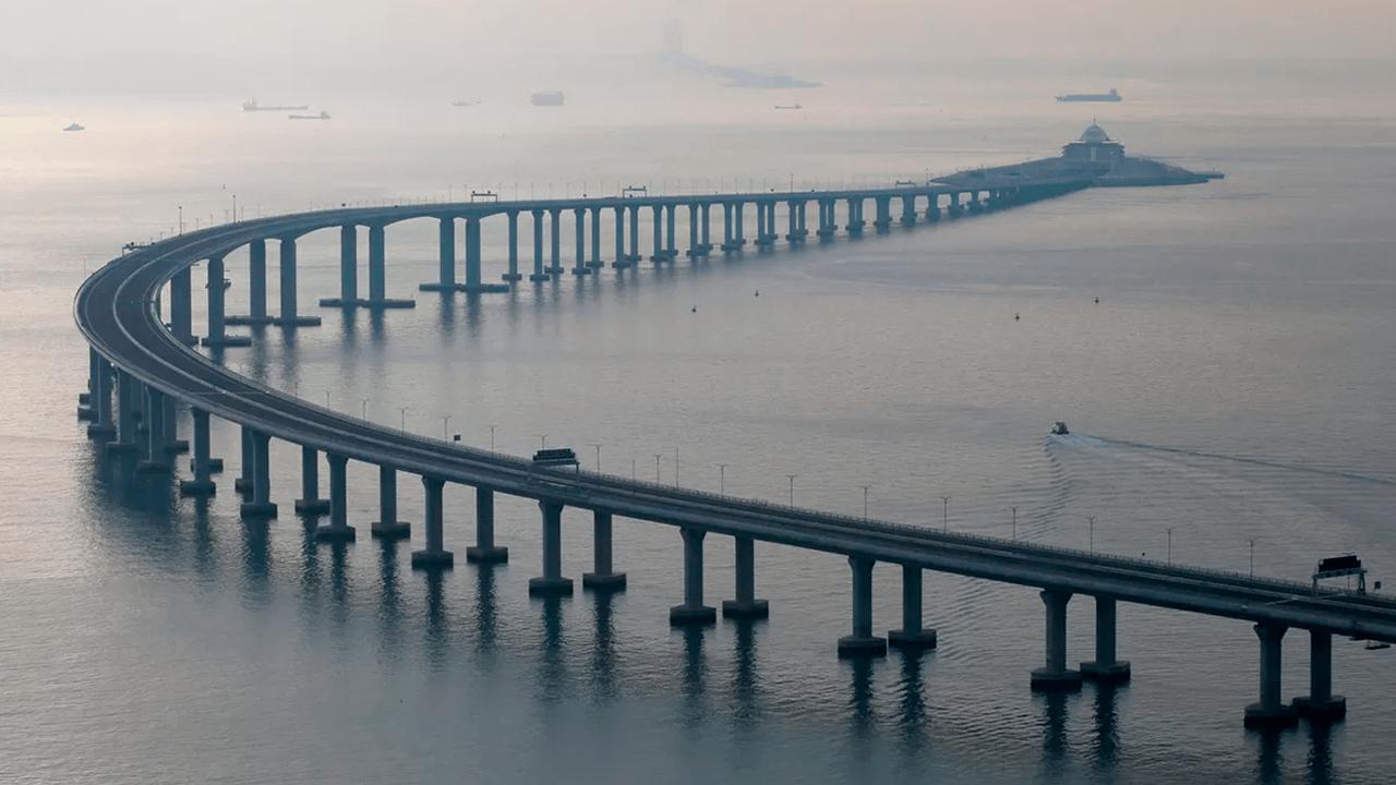 China tem maior ponte marítima do mundo