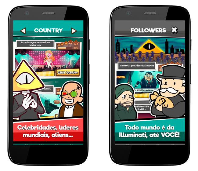 Baixar APK de We Are Illuminati – Simulador de Conspirações de graça para Android