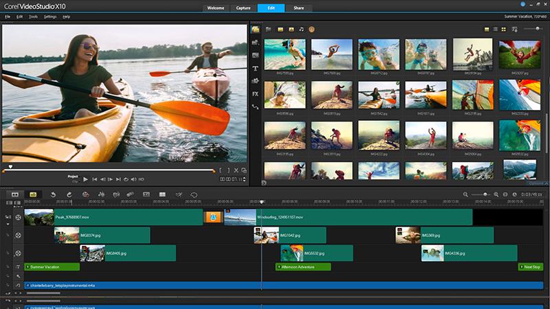 Donwload do Corel VideoStudio Ultimate X10