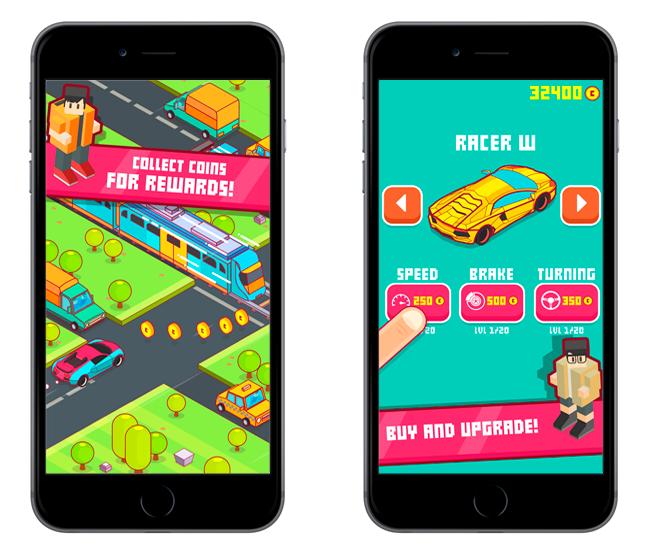 Baixar Speedy Car - Endless Rush de graça para iOS