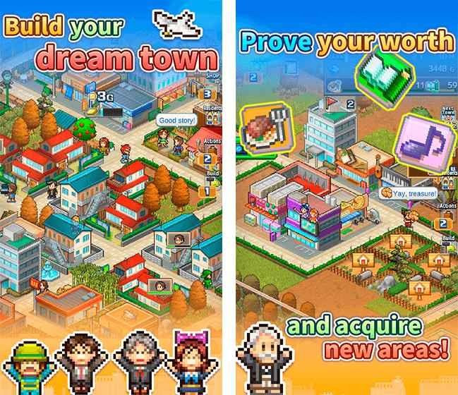 Donwload do jogo Dream Town Story para iOS grátis