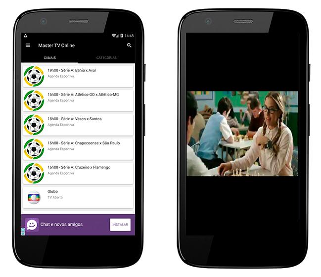 Baixar APK de Master Tv Online de graça para Android