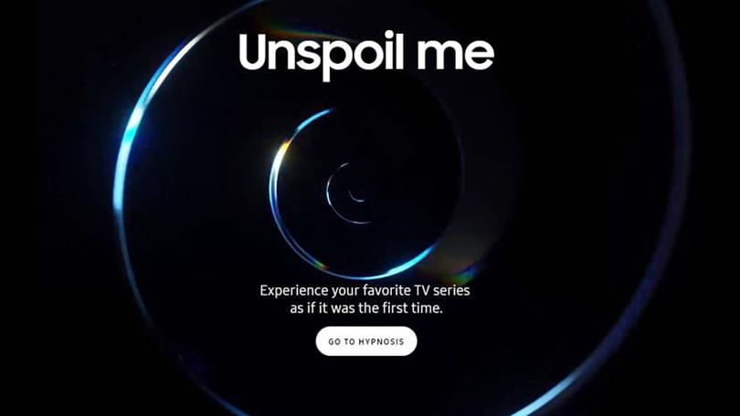 Samsung quer fazer você esquecer sua série favorita
