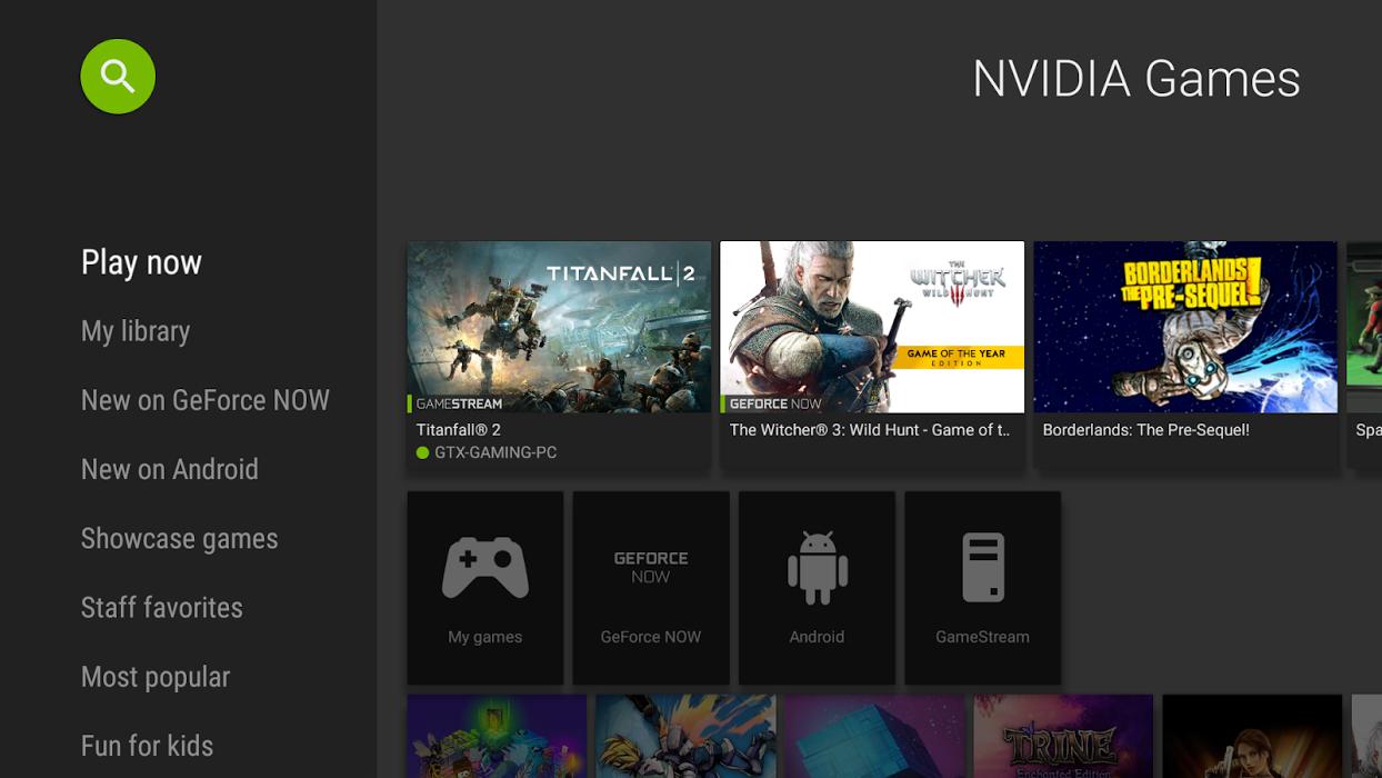Donwload do aplicativo NVIDIA Games grátis